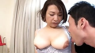Young asian obese nipples