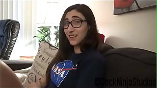 Nerdy Little Step Sister Blackmailed Into Coition For Outing To Spacecamp Preview - Addy Shepherd