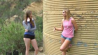 Young girls in lesbian action - hot girlies – lesbian porn