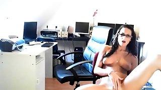 Sandra having fun in the situation